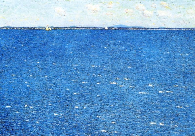 West Wind, Appledore Frederick Childe Hassam