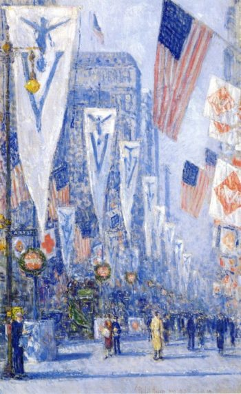 Victory Day, May 1919 Frederick Childe Hassam