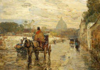 The Val de Grace, Spring Morning Frederick Childe Hassam