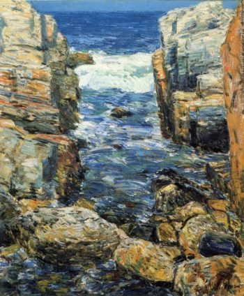 The South Gorge, Appledore, Isles of Shoals Frederick Childe Hassam