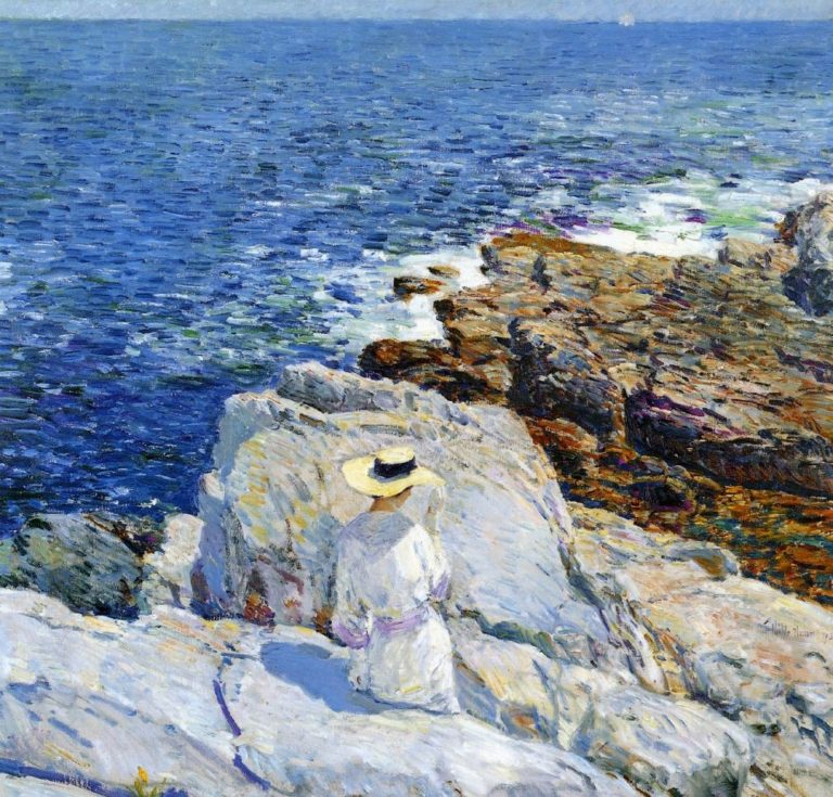 The South Ledges, Appledores Frederick Childe Hassam