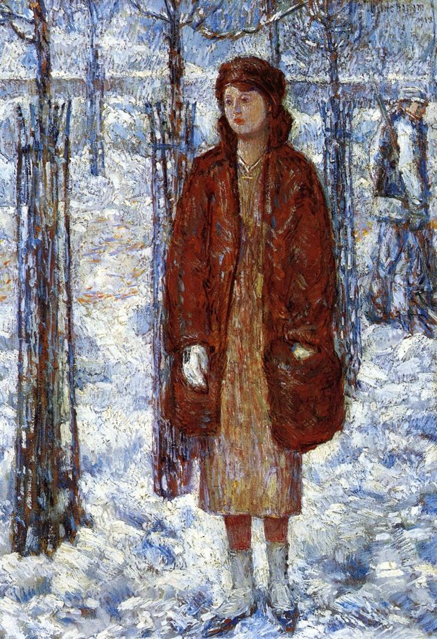 The Snowy Winter of 1918, New York Frederick Childe Hassam