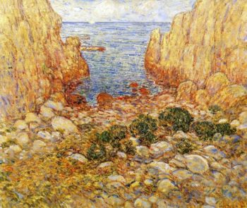 The Gorge Appledore, Isles of Shoals Frederick Childe Hassam