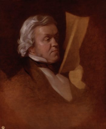 William Makepeace Thackeray | Samuel Laurence | oil painting