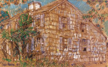 Home Sweet Home Cottage | Frederick Childe Hassam | oil painting