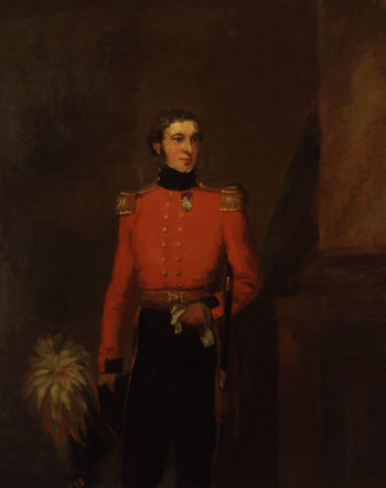 Beaumont Hotham 3rd Baron Hotham | William Salter | oil painting