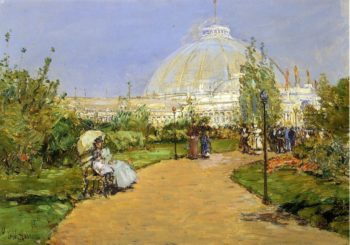 Horticultural Building, World's Columbian Exposition, Chicago Frederick Childe Hassam