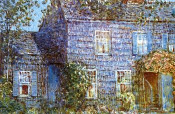 Hutchison House, Easthampton Frederick Childe Hassam