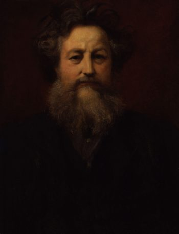 William Morris | Sir William Blake Richmond | oil painting