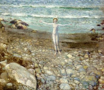 Incoming Tide | Frederick Childe Hassam | oil painting