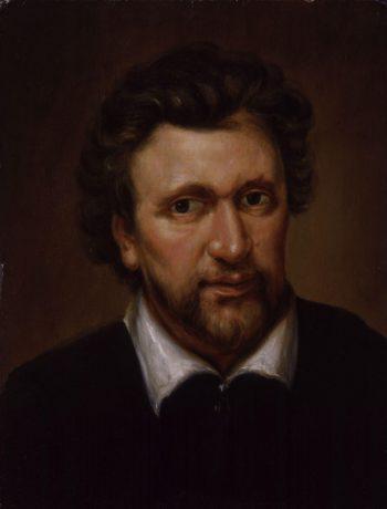 Benjamin Jonson | Abraham van Blyenberch | oil painting