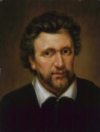 Benjamin Jonson | Abraham van Blyenberch retouched | oil painting