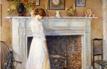 In the Old House | Frederick Childe Hassam | oil painting