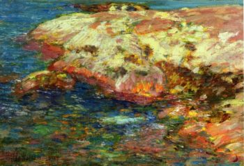 Islea of Shoals1 | Frederick Childe Hassam | oil painting