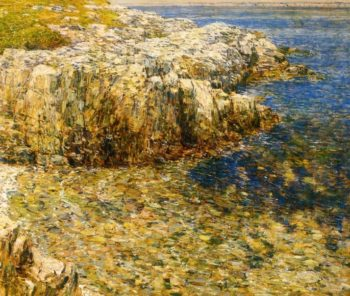 Islea of Shoals5 | Frederick Childe Hassam | oil painting