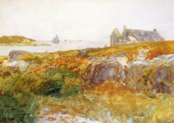 Islea of Shoals6 | Frederick Childe Hassam | oil painting