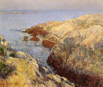 Islea of Shoals | Frederick Childe Hassam | oil painting
