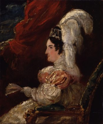 Caroline Amelia Elizabeth of Brunswick | Sir George Hayter | oil painting