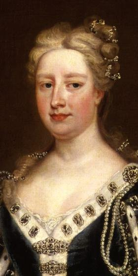 Caroline Wilhelmina of Brandenburg Ansbach | Charles Jervas | oil painting