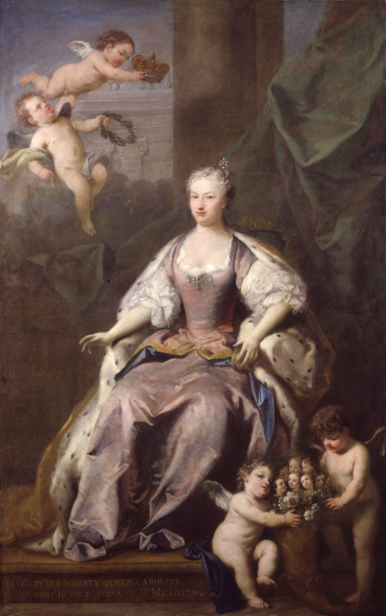 Caroline Wilhelmina of Brandenburg Ansbach | Jacopo Amigoni | oil painting