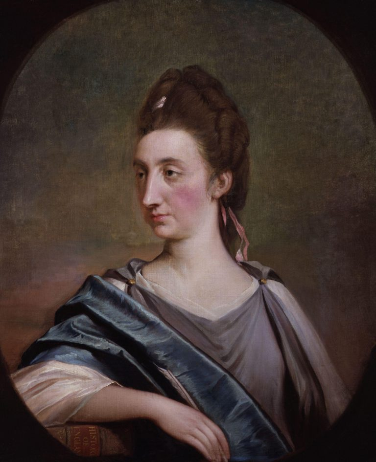 Catharine Macaulay nae Sawbridge | Robert Edge Pine | oil painting