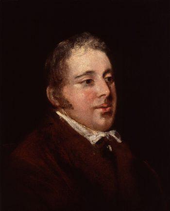William Seguier   John Jackson   oil painting