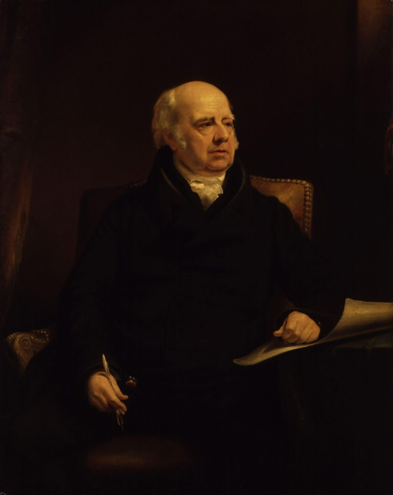 William Sharp   James Lonsdale   oil painting