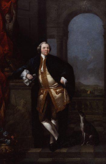 William Shenstone   Edward Alcock   oil painting