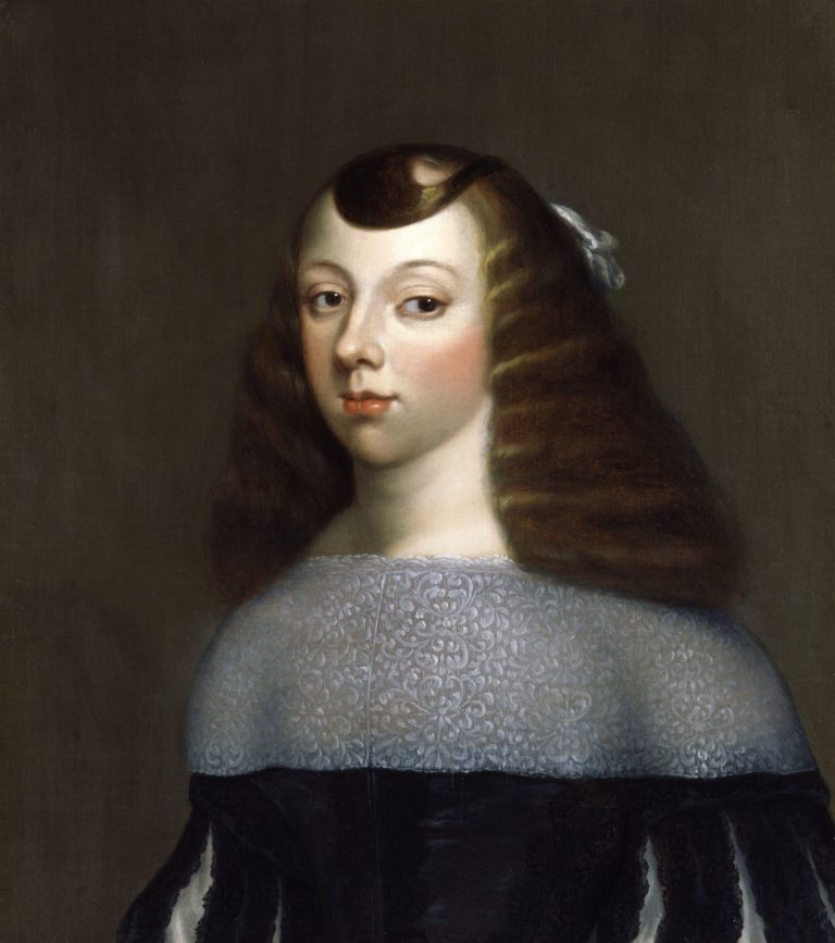 Catherine of Braganza | Dirk Stoop | oil painting