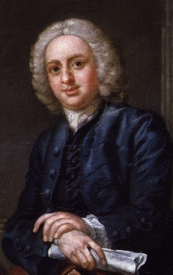 John Hoadly   Francis Hayman   oil painting