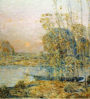 Late Afternoon (also known as Sunset) | Frederick Childe Hassam | oil painting
