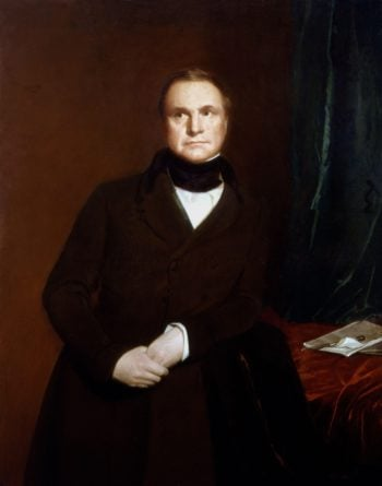 Charles Babbage | Samuel Laurence | oil painting