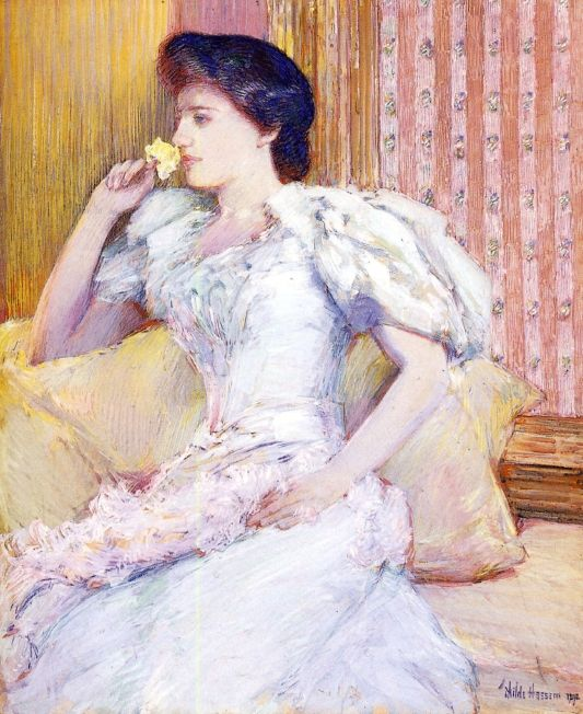 Lillie | Frederick Childe Hassam | oil painting