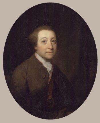 William Whitehead   Benjamin Wilson   oil painting