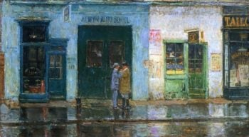 Little Cobbler's Shop | Frederick Childe Hassam | oil painting