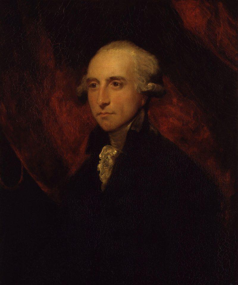 William Windham | Sir Joshua Reynolds | oil painting