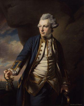 John Jervis Earl of St Vincent | Francis Cotes | oil painting