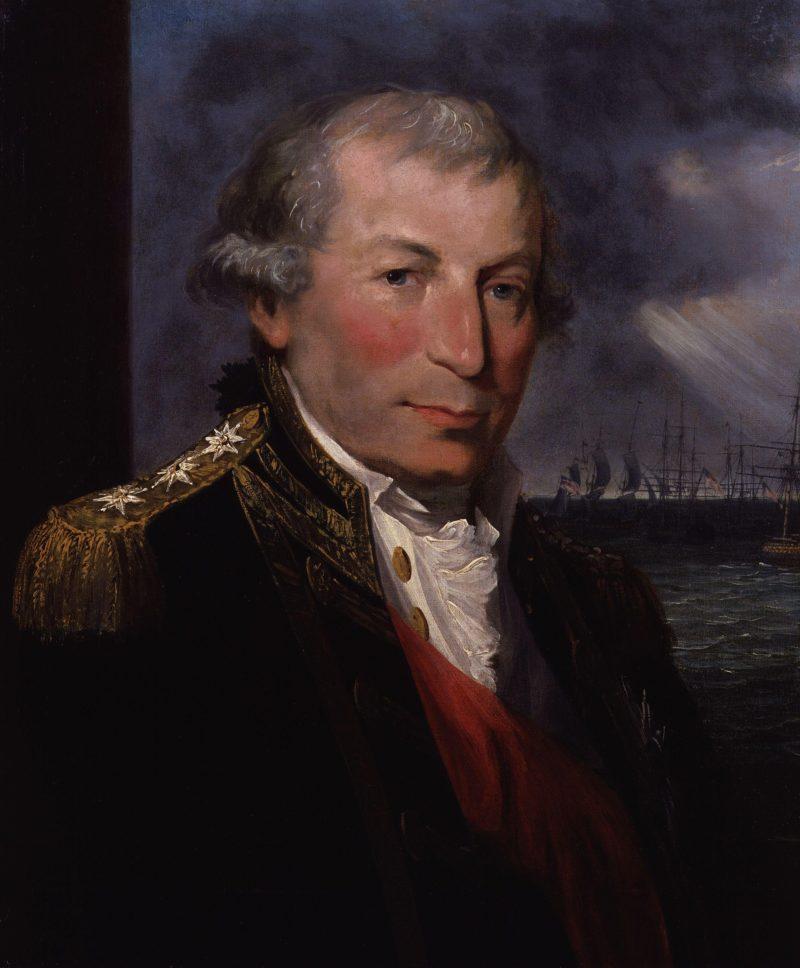 John Jervis Earl of St Vincent | Lemuel Francis Abbott | oil painting