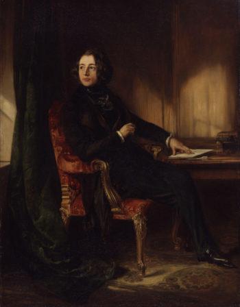 Charles Dickens | Daniel Maclise | oil painting