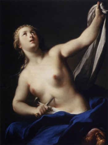 Lucretia | Andrea Casali | oil painting