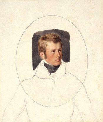 Charles Gordon Lennox 5th Duke of Richmond and Lennox watercolour | Unknown Artist | oil painting