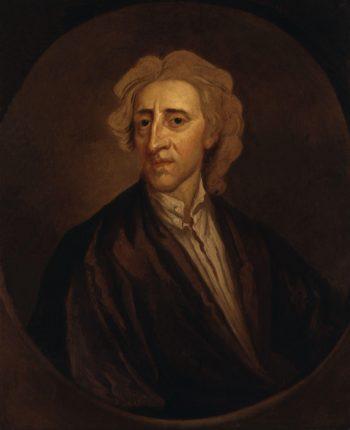 John Locke   Sir Godfrey Kneller   oil painting
