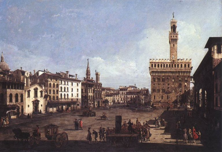 Bellotto Signoria | Bernardo Bellotto | oil painting