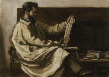 Charles Holden | Benjamin Nelson | oil painting