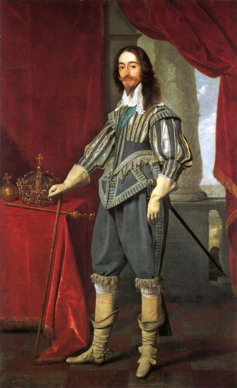 Charles I | Daniel Mytens | oil painting