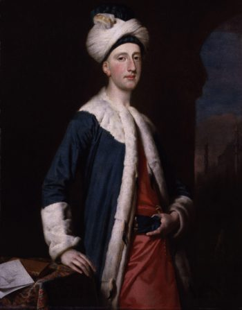 John Montagu 4th Earl of Sandwich | Joseph Highmore | oil painting