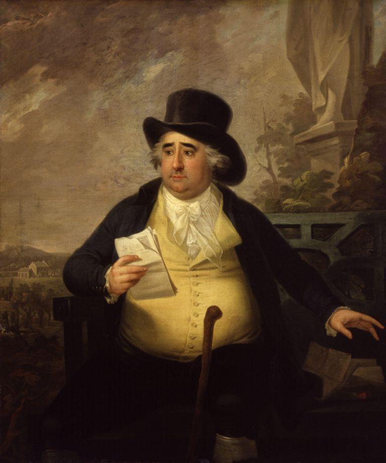 Charles James Fox | Karl Anton Hickel | oil painting