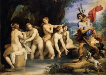 Diana and Actaeon | Cavalier dArpino | oil painting