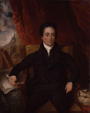 Charles Lamb | Henry Hoppner Meyer | oil painting