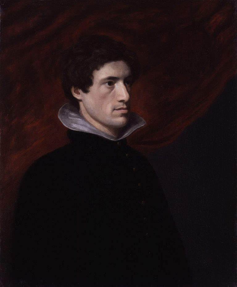 Charles Lamb | William Hazlitt | oil painting